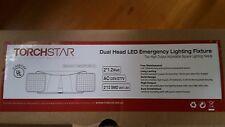 TorchStar Dual Head LED Battery back-up Emergency Lighting Fixture