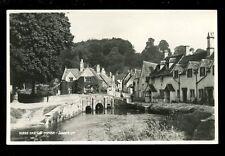 Wilts Wiltshire CASTLE COMBE Judges Proof card RP plain back