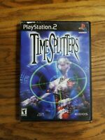 Time Splitters in case No Manual Black Label Playstation 2 PS2