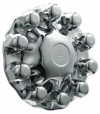 Alcoa Front Hub Cover Kit 1 Piece System Chrome ABS Plastic
