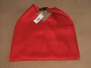 BN Designer Maison Margelia MM6 Large Red Tote Bag Convertible