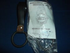 MONADNOCK LIFETIME POLICE SECURITY BATON HOLDER RING BLACK NEW