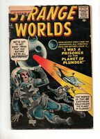 Strange Worlds #2 from Marvel 1959 in G/VG 3.0 Condition with DITKO SCI-FI COVER