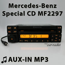 Mercedes Special MF2297 Aux-In MP3 Cd-R Car Radio 3,5 Jack Plug RDS Radio