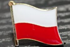 POLAND Polish Country Metal Flag Lapel Pin Badge *NEW*
