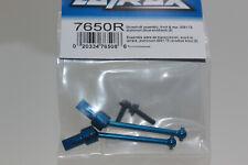 Traxxas TRX 7650 R Blue Aluminium Kardan Drive Shaft Front Rear Teton Latrax 1:
