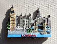 TOURIST SOUVENIR 3D Resin Travel Fridge Magnet --- London , United Kingdom
