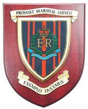 PROVOST MARSHALL RMP CLASSIC HAND MADE  REGIMENTAL MESS PLAQUE