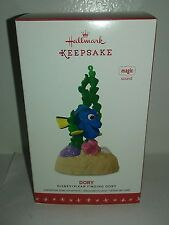 Hallmark 2016 Disney DORY Keepsake Ornament Finding DORY Pixar Magic sound Movie