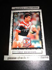 2000 SELECT NRL CARD NO.112 LUKE RICKETSON SYDNEY ROOSTERS
