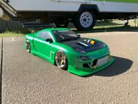 1:10 RC Clear Lexan Body RX7 FD3S 200mm Nitro or Electric Drift or Race Colt