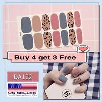Full Cover Nail Polish Wraps Self-adhesive Nail Stickers Nail Art Decoration DIY