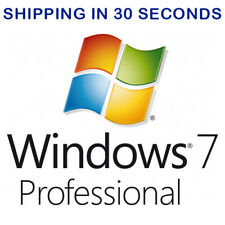 Windows 7 Pro Professional 32/64bit ESD - Microsoft Licence Key Activation Code