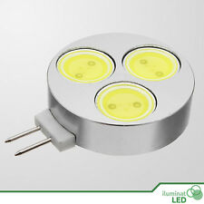 Bombilla Circular LED G4 LED COB 3W Blanco Puro 12V - Consumo 3W