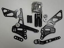 SUZUKI GSX R 600 750 L1 L2 L3 L4 L5 L6 CNC alluminio poggiapiedi