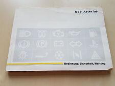 Betriebsanleitung OPEL Astra F Stand 8/94 (Bedienung, Sicherheit, Wartung) 1994