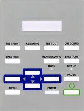 Roland Printer SP-300  SP-540 /V Control Key Overlay Sheet Panel 21475155