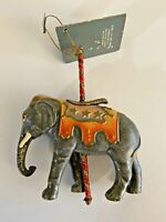 Kurt Adler Elephant Carousel Animal Ornament Smithsonian Collection Vintage 1988