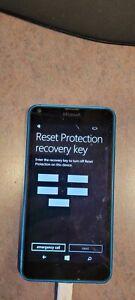 Nokia Lumia 635 - 8GB - Black (cricket wireless) as is locked and screen damage