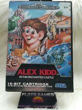 Jeu Alex Kidd pour Sega Megadrive PAL En Boite / Boxed - Floto Games