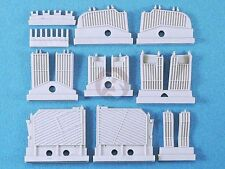 Legend 1/35 Tank Engine Deck Louvers Set (for Dragon M48 / M60 Patton) LF1345