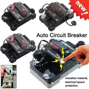 Universal 30A-300Amp Auto Circuit Breaker Car Yacht Audio Fuse Holder Switch UK