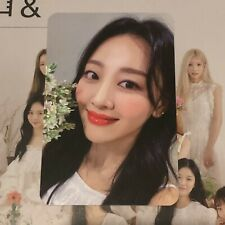 More details for loona & and version d yves official photocard perfect condition