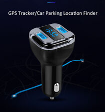 Mini Locator Dual Usb Car Charger Tracker Gsm Gps Gprs RealTime Vehicle Tracking