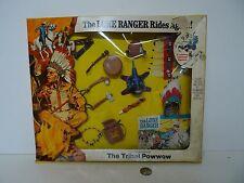 Vintage Hubley The Lone Ranger Rides Again The Tribal Powwow adventure set !!!