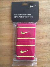 Bande bandeaux Poignets Nike Running tennis basket Band Swoosh Wristbands DriFit