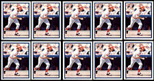 (10) JOHNNY BENCH STICKERS-1983 TOPPS # 229-HALL OF FAME CINCINNATI REDS CATCHER