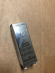 Lancome Matte Shaker Liquid Lipstick High Pigment