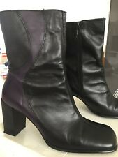 Bottines Madison Valdess T40 noir/violet