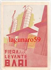 ( Post Futurismo )  BARI  -  FIERA DEL LEVANTE   (  ill.  IUSCO  )