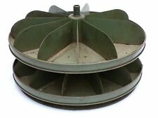 Vintage Rotating Hardware Store Industrial Parts Bin Counter-top Green Salvage