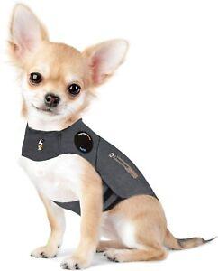 ThunderShirt Classic Dog Anxiety Jacket, Heather Gray, XX Small