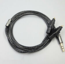 Headphone Black Replacement Cable For Sennheiser HD414 HD430 HD650 HD600 HD580
