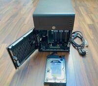 """HP Micro Server N40L - 4 GB RAM - 1 TB 24/7 - RAC - Komplett - 4x 3,5"""" - 25W TDP"""