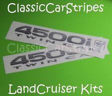 LandCruiser 4500i 80 Series TwinCam SILVER Decal Sticker