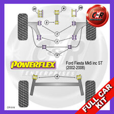 Ford Fiesta Mk6 inc ST (02-08) Powerflex Complete Bush Kit