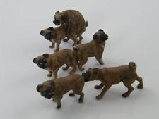 3 COLD PAINTED AUSTRIAN BRONZE FIGURINES - DOGS MATING