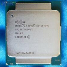 Intel Xeon E5 2643 V3 3.4GHz 20MB CACHE 6 CORE SR204 CPU Processor EX VAT £99.58
