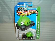 2012 Hot Wheels '' Hw Imagination '' #35 = Angry Birds = Verde Minion Cerdo Eu