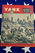Yank magazine Mars 1944 Pin-Up US Army WW2