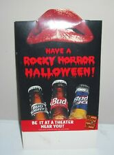 1996 The Rocky Horror Picture Show Table Top Tent / Budweiser Halloween Standee