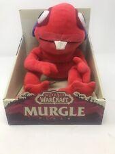 Blizzard World of Warcraft Red Murgle Murloc Plush Stuffed Animal Box SEE...