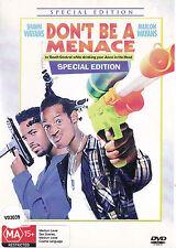 DON'T BE A MENACE Shawn& Marlon Wayans DVD Region Free - PAL