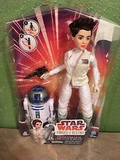 Star Wars Forces of Destiny Princess Leia Organa and R2-D2 Adventure Set New