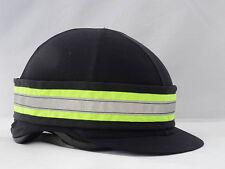 Yellow Hi Viz Fluorescent Hat Band - With Reflective Strip