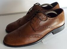 Burton 43 9 Magnus Tan brown  leather brogues lace up shoes